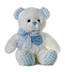 aurora plush inches blue teddy bear