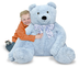 melissa doug jumbo blue teddy bear