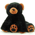 super soft floppy stuffed black bear