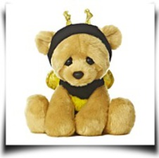 9 Bee Mine Plush Bear
