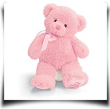 MY1ST Teddy Pink 10 Plush