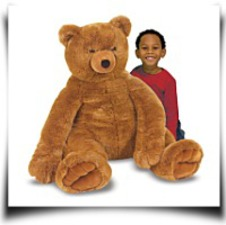 Specials Melissa And Doug Jumbo Brown Teddy Bear
