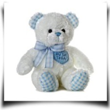 Specials Plush Baby 14 Inches Blue My First Teddy