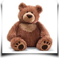 Slumbers Brown Bear 17 Plush