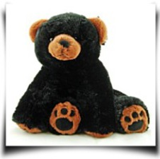 Super Soft And Floppy Stuffed Black Bear