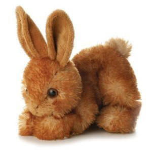 Bitty Rabbit Bunny Mini Flopsie 8 Plush